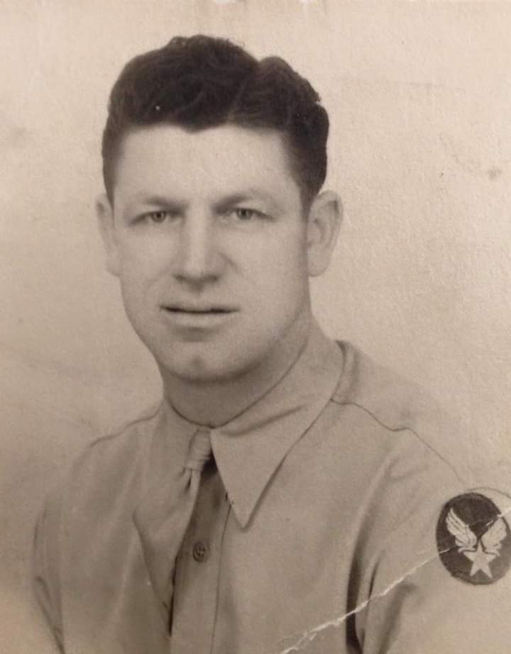 Henry Schmiegel,  Air Force, Master Sargeant, WWII